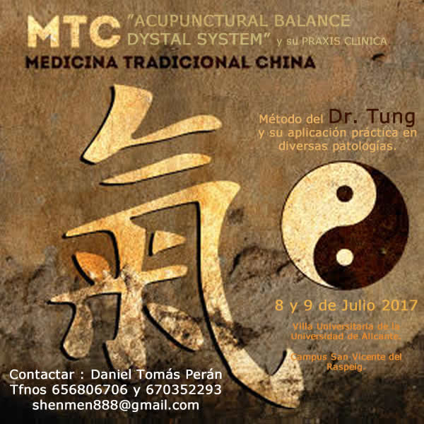 Seminario ACUPUNCTURAL BALANCE DYSTAL SYSTEM